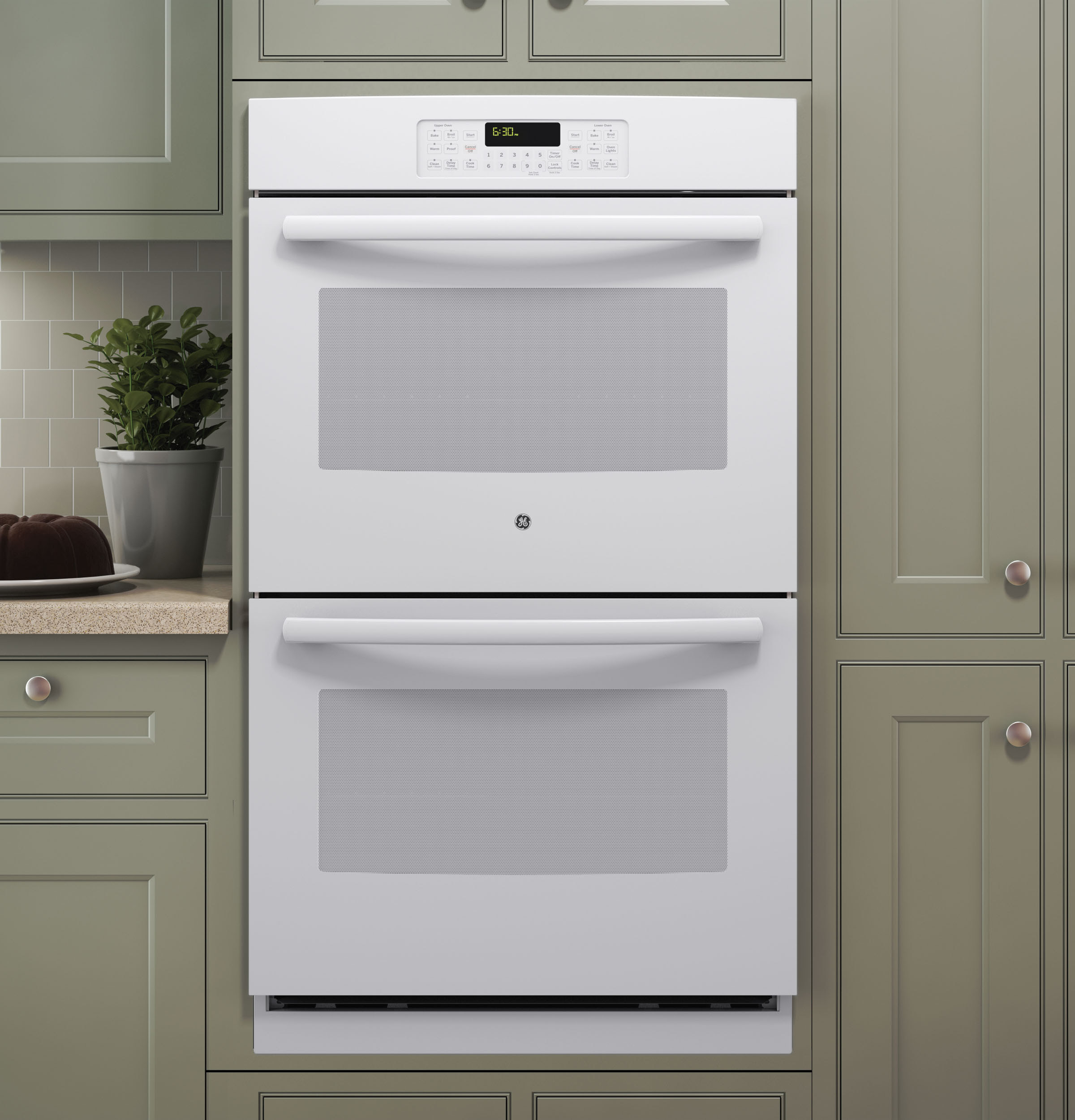 """GE® 30"""" Built-In Double Wall Oven 