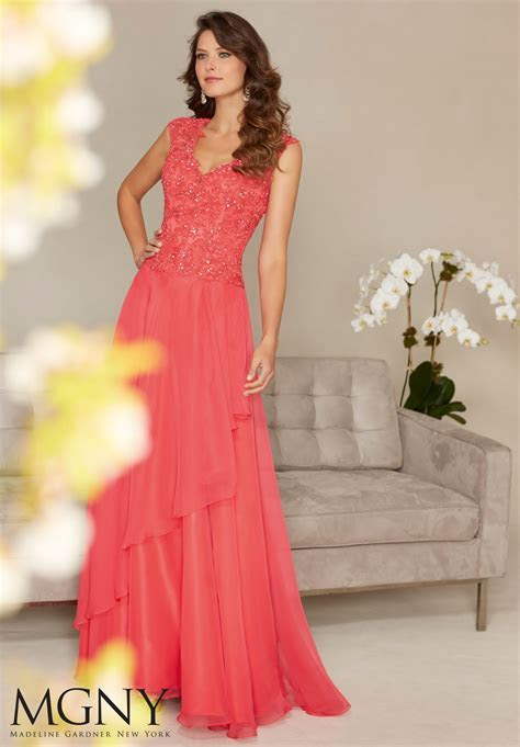 Cordinelli Embroidery Evening Dress   Style 71331   Morilee