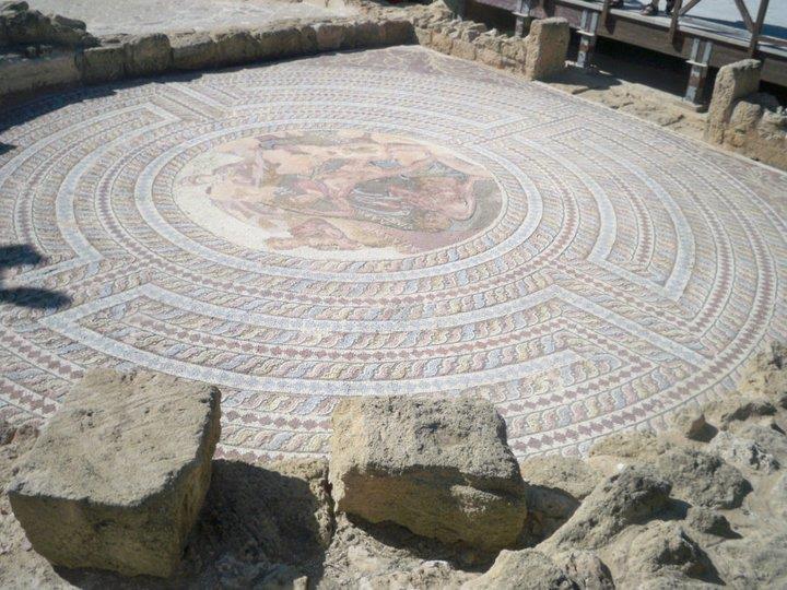 Paphos, Cyprus Mosaics near harbout