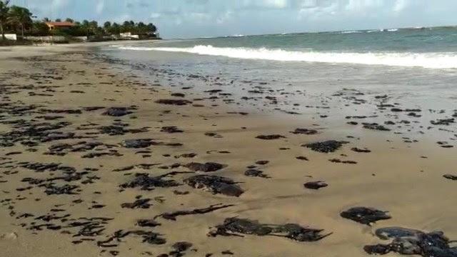 Resultado de imagem para Óleo nas praias do RN: MPF articula órgãos pela limpeza e investigação da origem dos resíduos