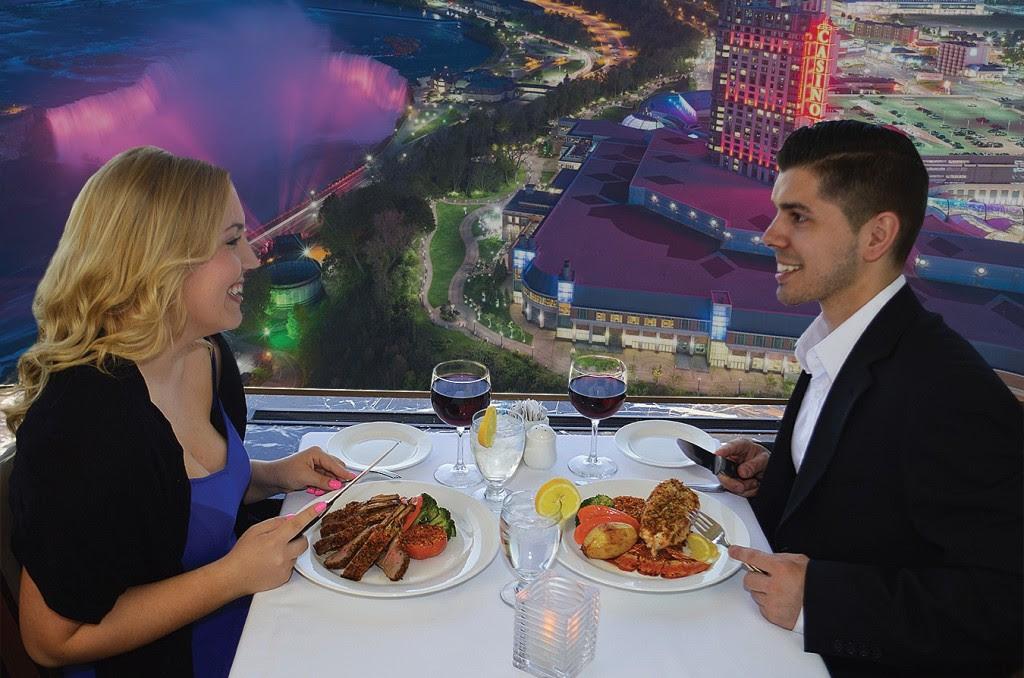 Skylon Revolving Dining Room | Niagara Falls Dining