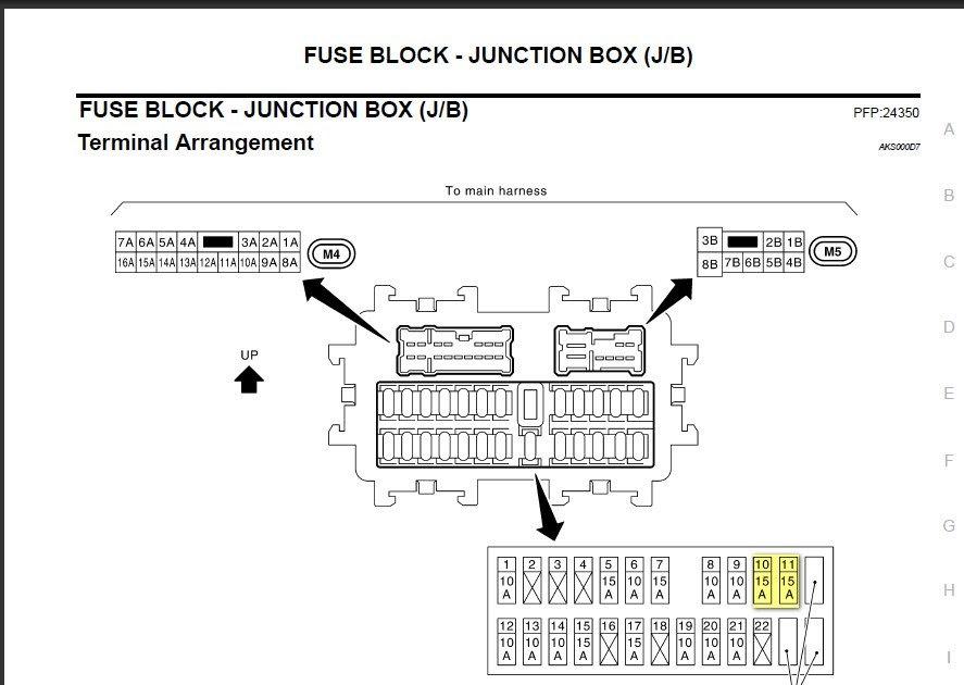 30 2003 Nissan 350z Fuse Box Diagram