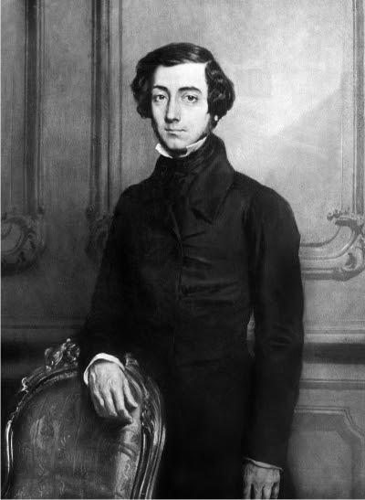 Alexis de Tocqueville.
