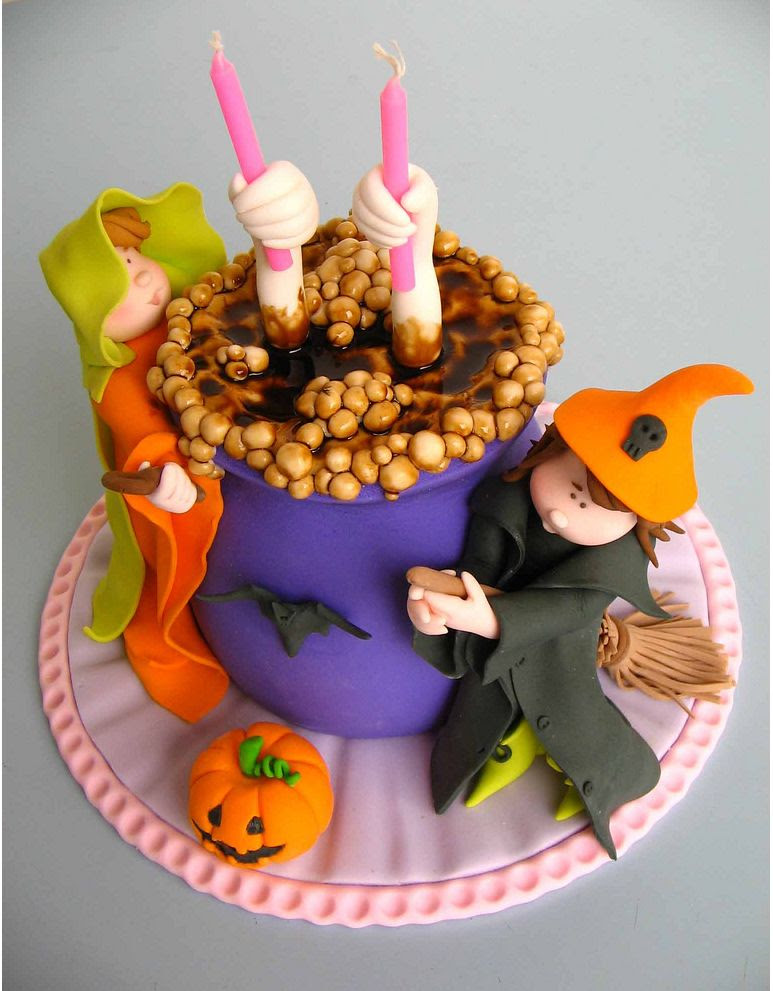 halloween cake decorating picture