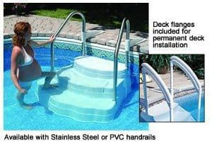 Inground Pool Steps for Safety, Convenience, and Style