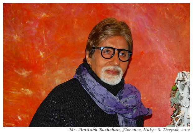 Mr. Amitabh Bachchan, Florence, Italy - S. Deepak, 2012