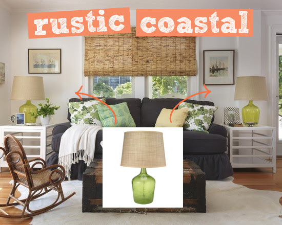 coastal table lamps | Tuvalu Home