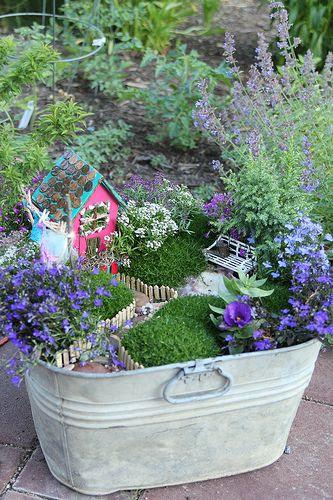 Garden Fairies, such a cute idea!