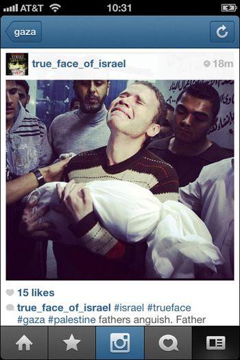 Instagram War Gaza 04