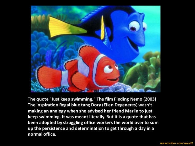 Keep Swimming Meaning Images