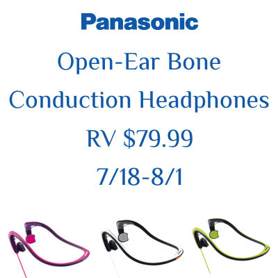 Panasonic Open-Ear Bone Conduction Headphones