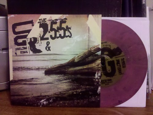 "Unwelcome Guests / 255's - Split 7"" - Purple Vinyl"