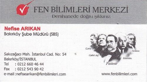 SBS Bakırköy Müdürü Nefise Arıkan
