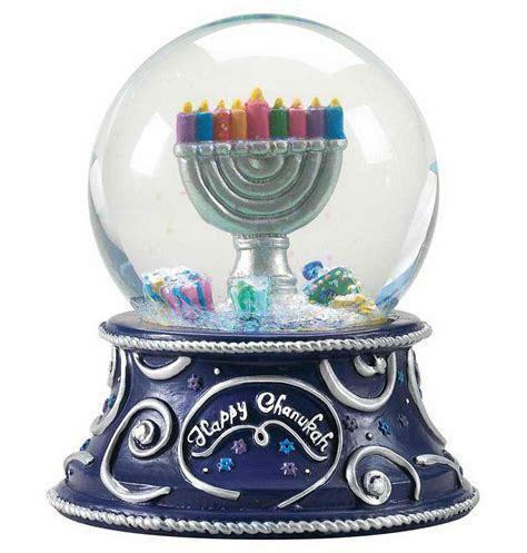 Hanukkah Musical Water Globe