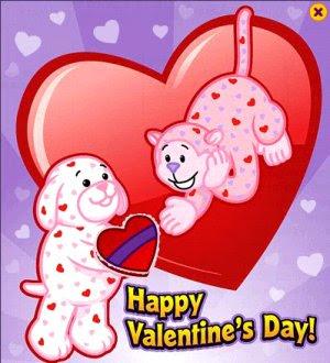 Then a Valentine card.