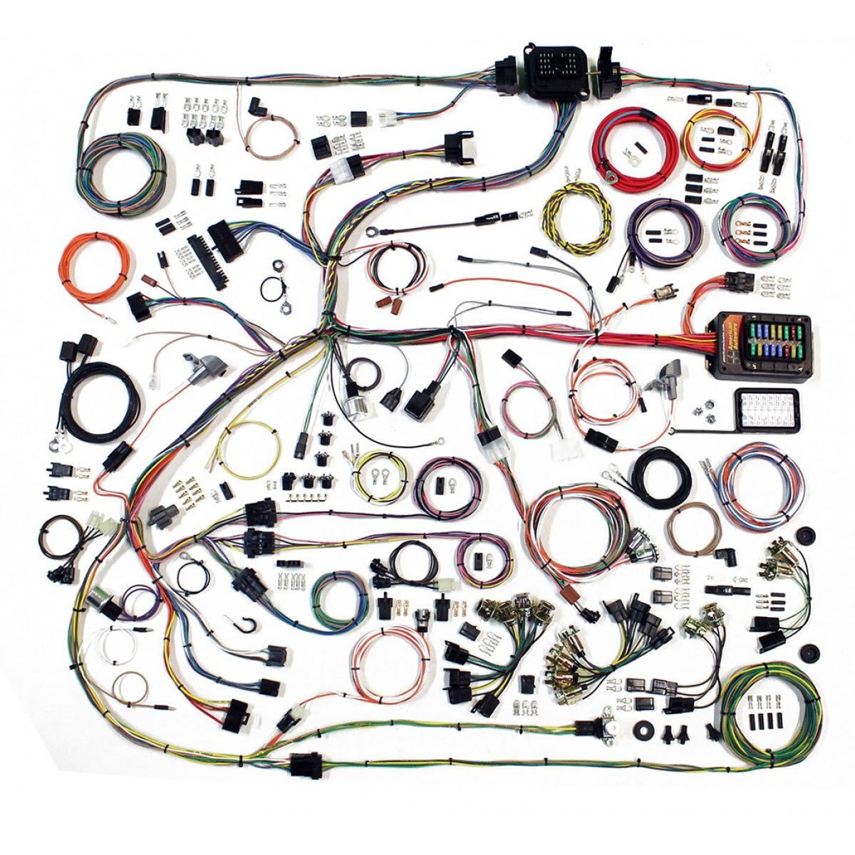 Complete Wiring Harness Kit 1967 75 Plymouth Roadrunner