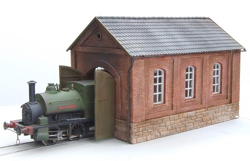 Industrial Engine Shed