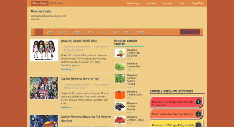 Access Mewarnaigambar Web Id Mewarnai Gambar