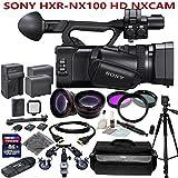Sony HXR-NX100 w/ Studio Production Kit