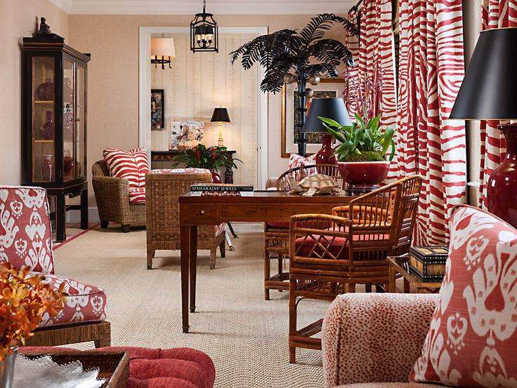 red interior decor