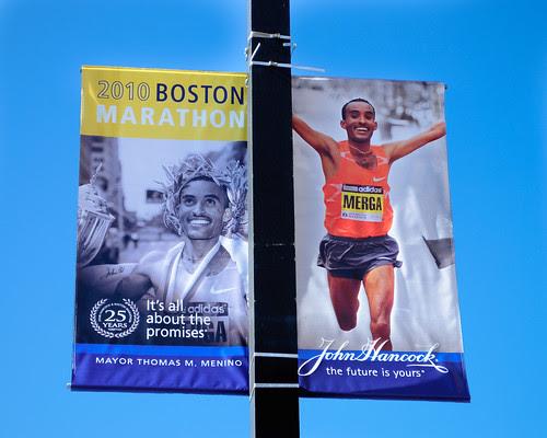 boston marathon logo. Boston Marathon 2010