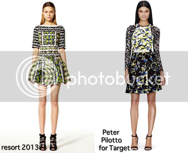 Peter Pilotto yellow prints