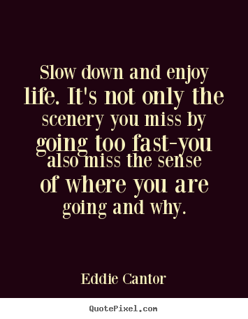 Quotes About Slow Down 284 Quotes