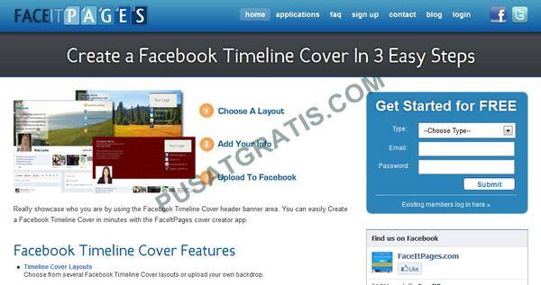 Membuat Cover Timeline dengan FaceItPages