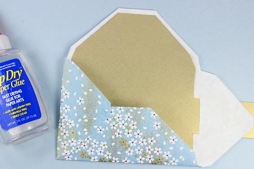 Fold-Glue-Flaps
