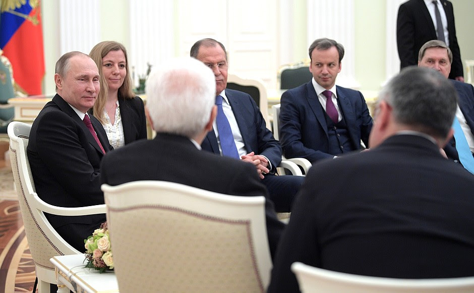Встреча сПрезидентом Италии Серджо Маттареллой.