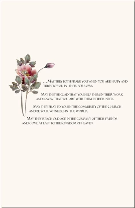 Rose Wedding Program Examples Wedding Program Wording