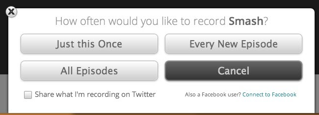 Aereo: RECORD a SHOW