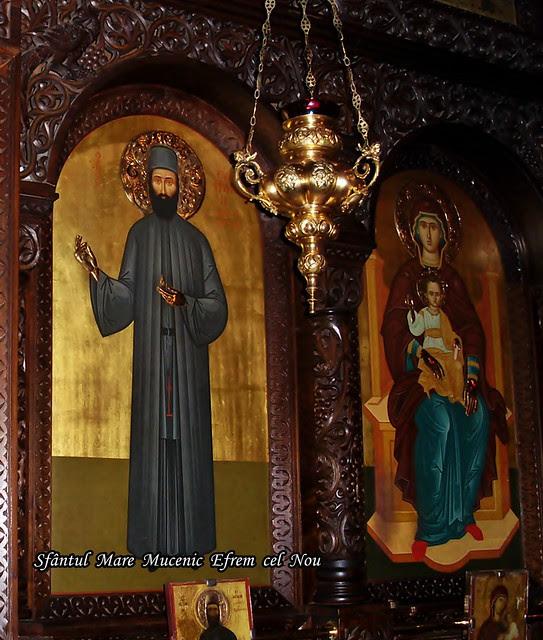 Sfântul  Mare  Mucenic  Efrem  cel  Nou 17