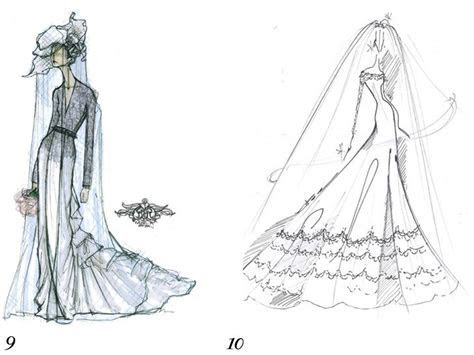 Rachel Roy and Reem Acra sketch Kate Middleton's wedding dress