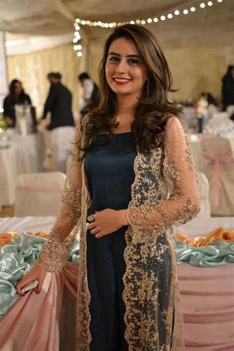 Bisma Kayani ..love the lace jacket or should i say gown