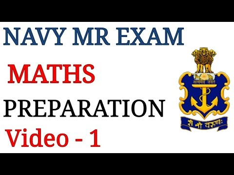Navy MR Maths Questions