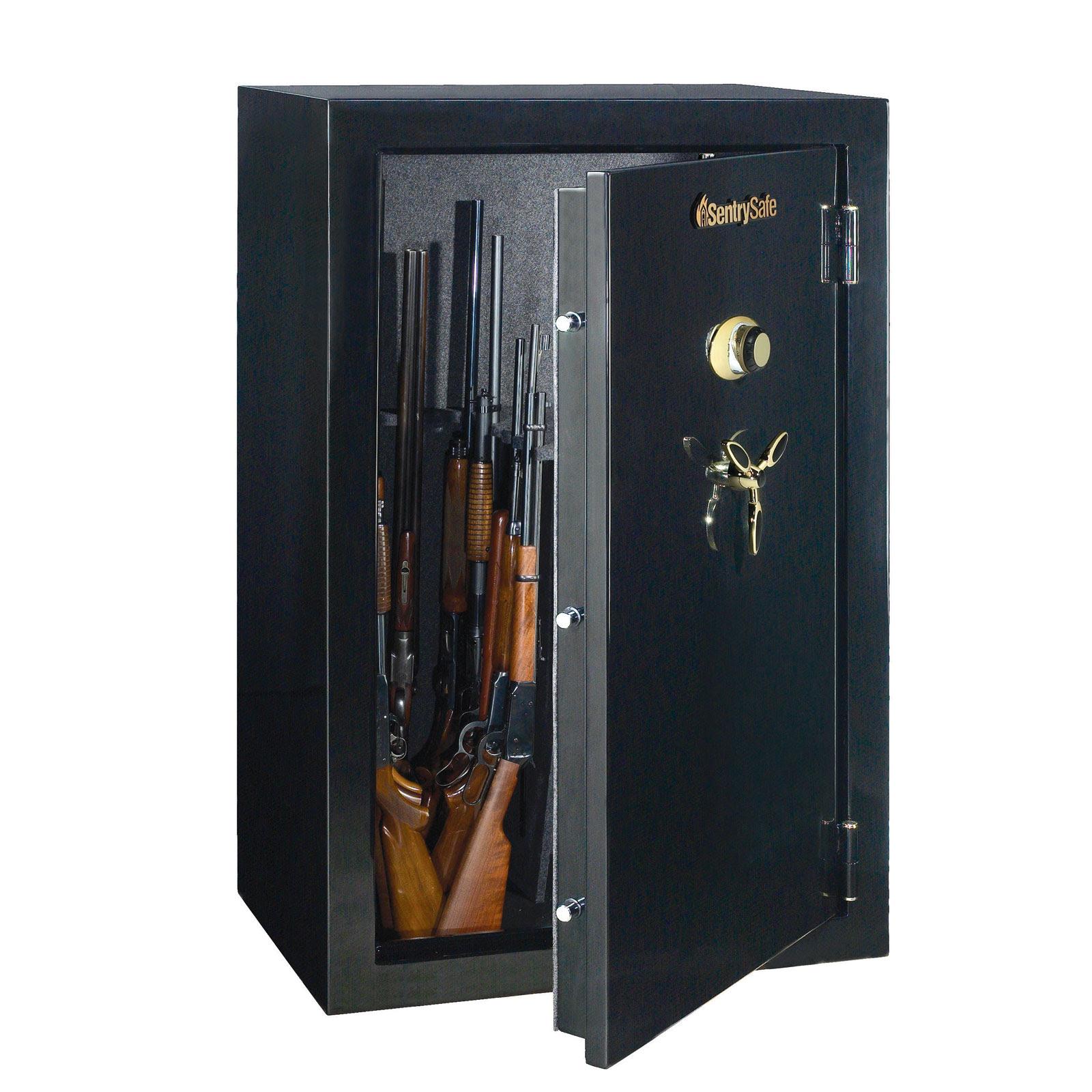 Sentry 3659C Gun Fire Safe with Combination Lock - 36-Gun ...