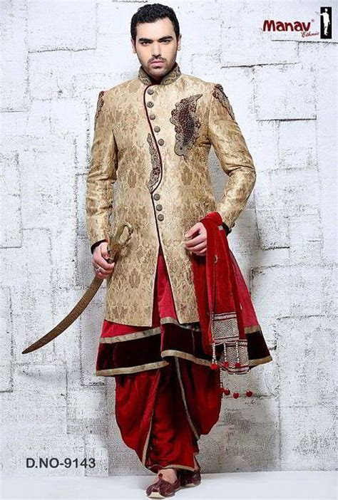 Indian Wedding Groom Dress   Weddingdoers