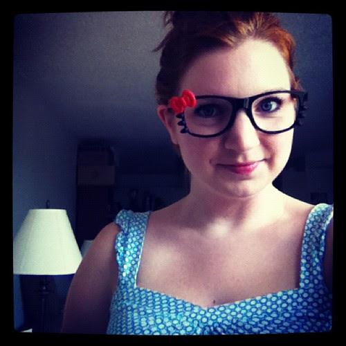 I just need kitty ears now. #nerd #hellokitty