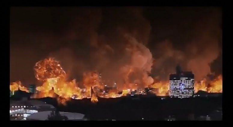 Gamera wrecked this place.