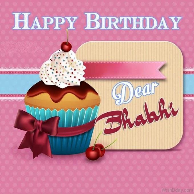Latest Happy Birhtday Bhabhi Wishes Collectioon