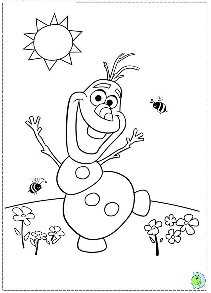 Coloriage Reine Des Neiges Olaf Colorier Les Enfants Marnfozinecom