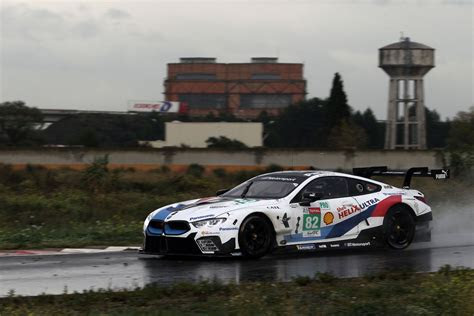 alex zanardi tests bmw  gte  preparation