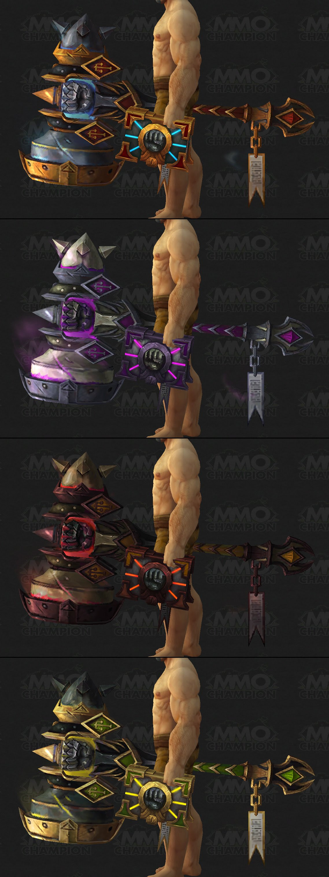 Holy Paladin Artifact Weapon Preview, Tweets, Activision Blizzard and MLG, Fan Art - MMO-Champion