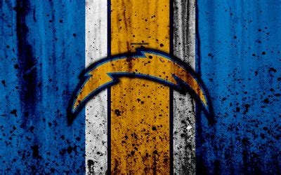 wallpapers los angeles chargers  nfl grunge