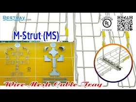 Bestray | Máng Cáp Dạng Lưới | Hệ Giá Đỡ | Thanh Đỡ Kiểu M MS