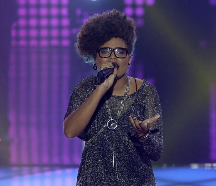 Brena deixou a competição musical (Foto: Artur Meninea/Gshow)