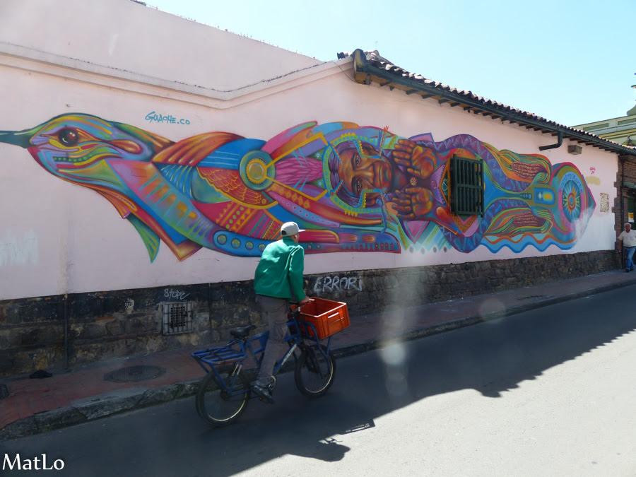 Bogota Street Art Bouts De Mondes