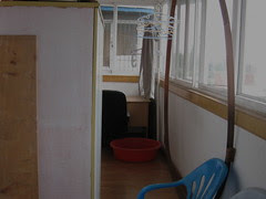 back hallway, 2009