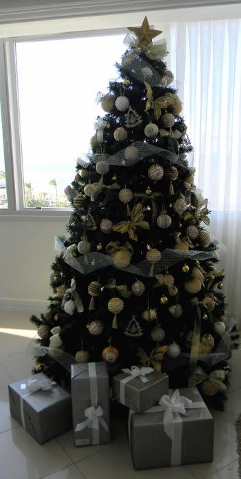 Bolas de Navidad preciosos y abeto de perlas y cuentas (32) (352x700, 169Kb)